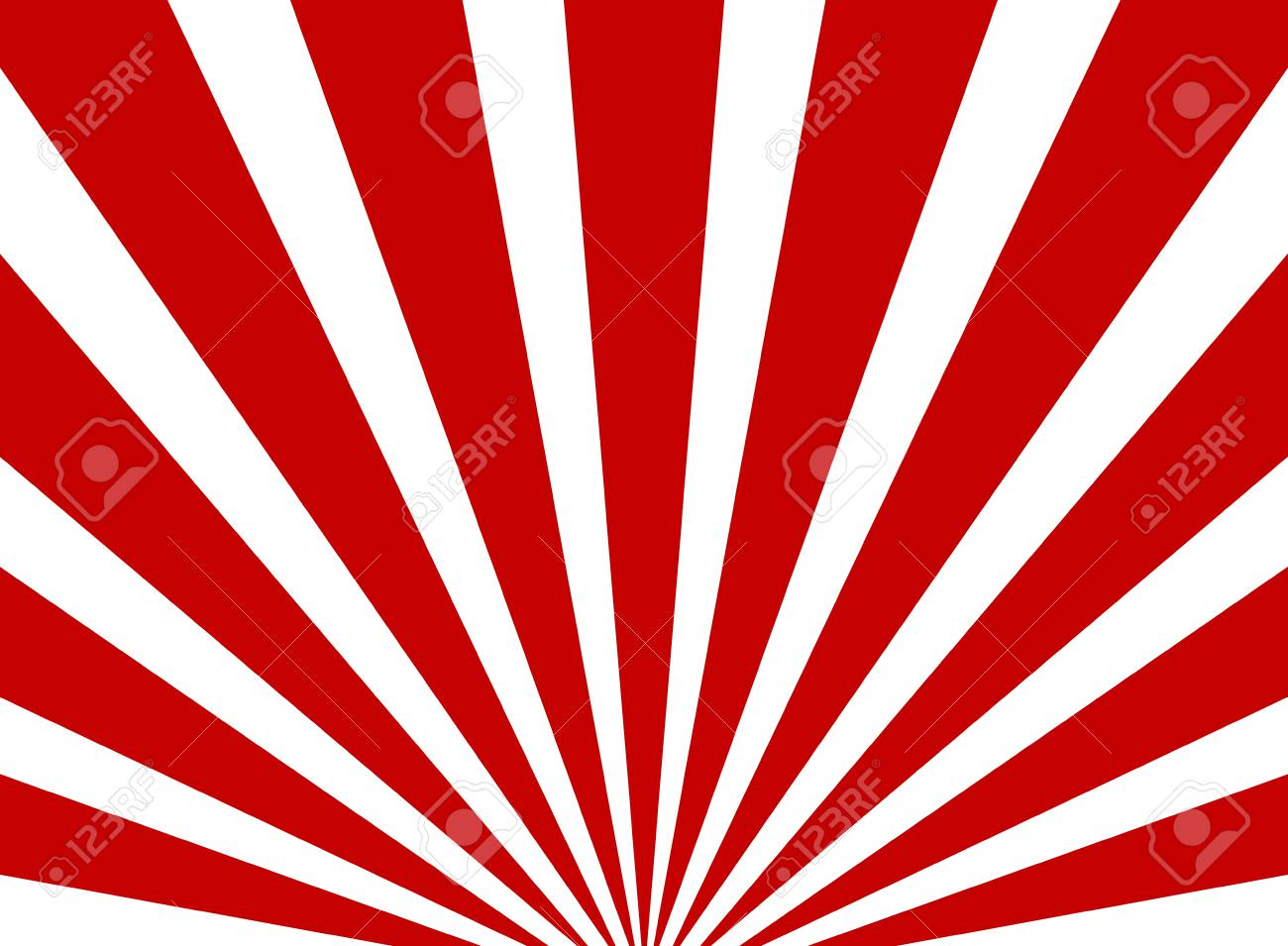 white and red stripes
