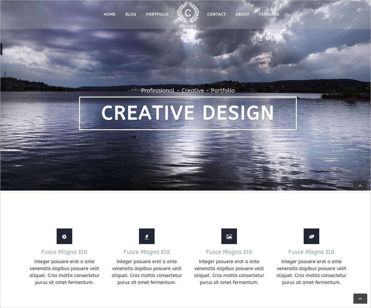 Creative Photography WP Theme