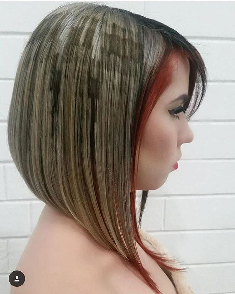 Image Gallery Long Stacked Hairstyles
