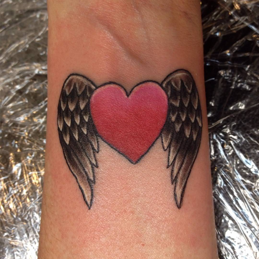 Love Wings Tattoo Design