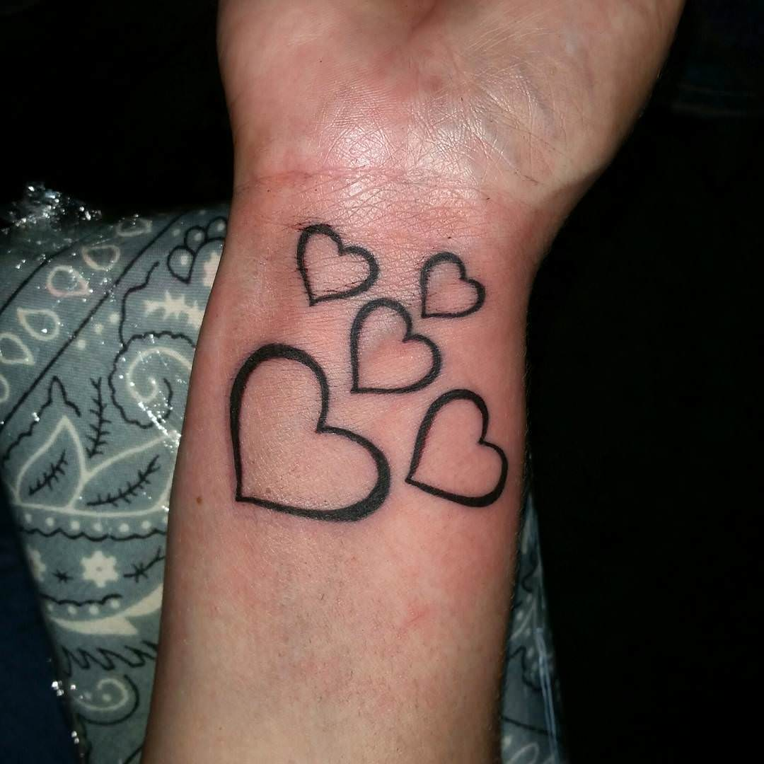 Heart Tattoo Design For Women
