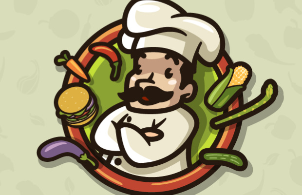 Balloon Chef Logo Design
