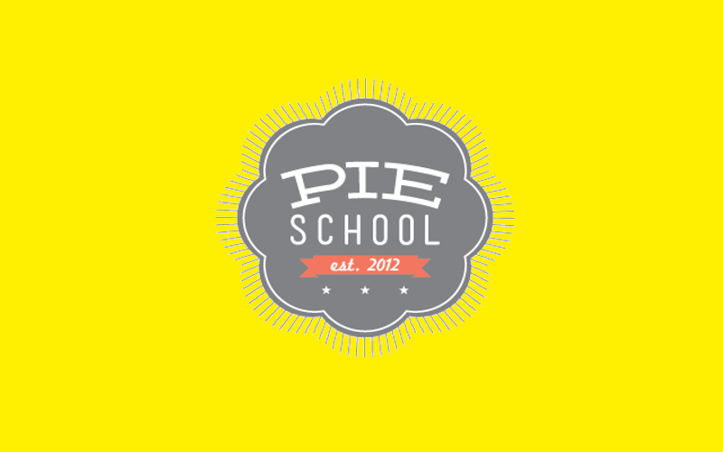 pie school logo design