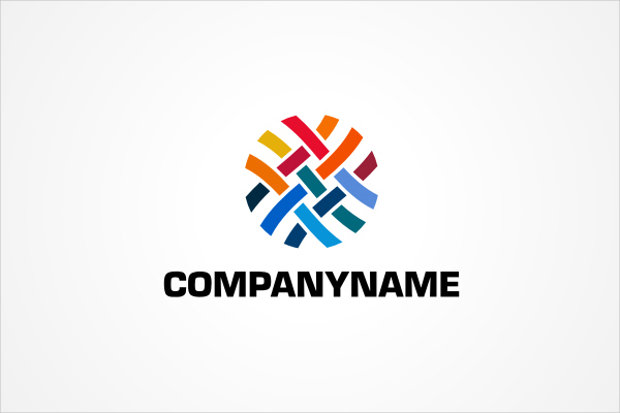 Colorful Weave Logo