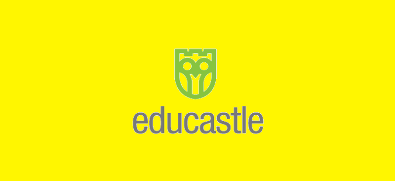 edu castle logo design
