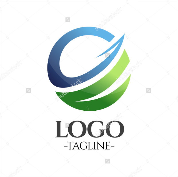 Business Abstract Globe Logo