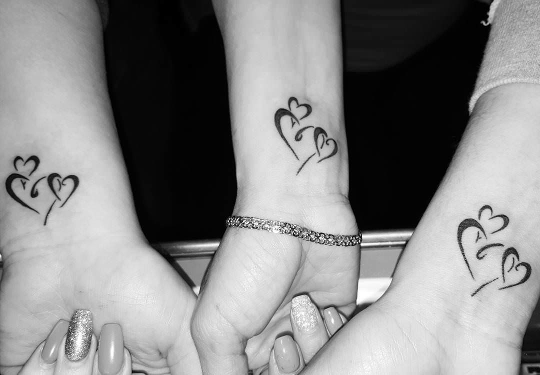 lovely heart tattoo design1
