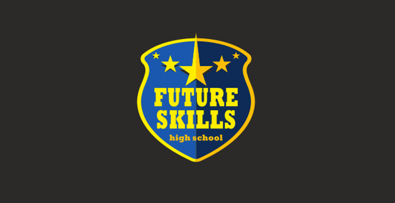 future skills logo design