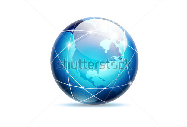 Globe Business Logo Design