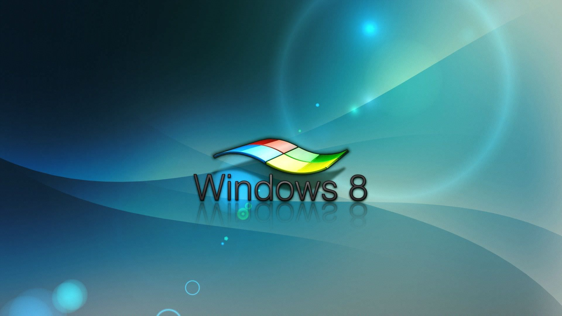 30+ 3D Windows 8 Wallpapers, Images