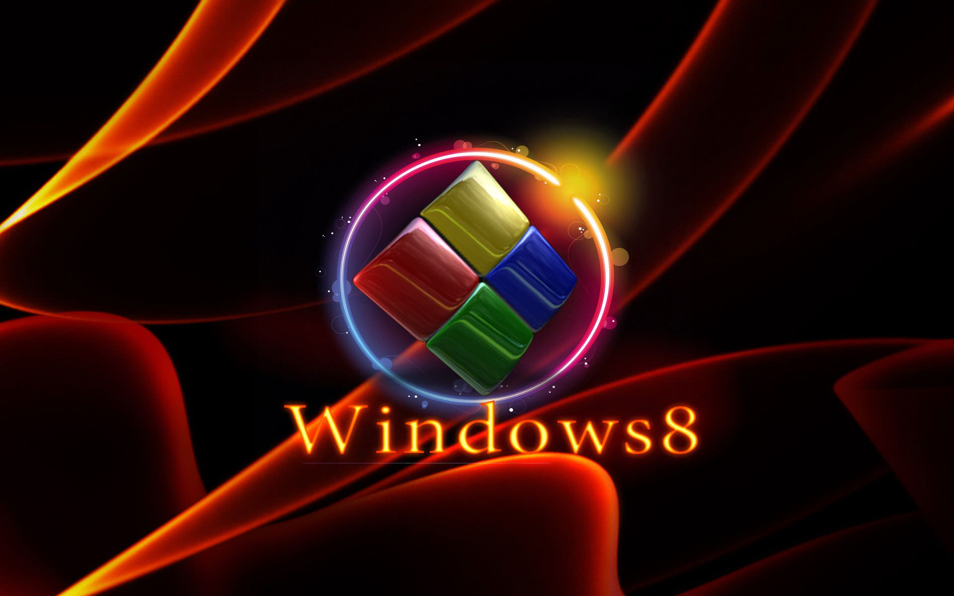 30 3D Windows 8 Wallpapers Backgrounds