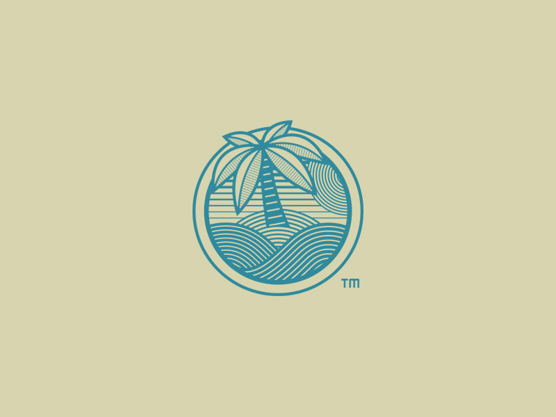 Palm Logo for Private Island