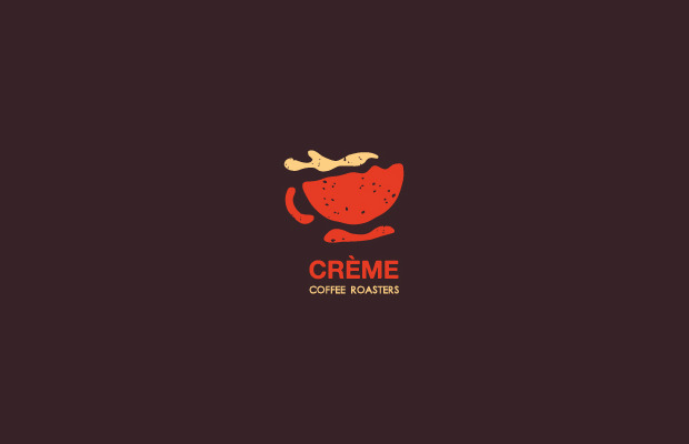 Stunning Cream Coffee Logo