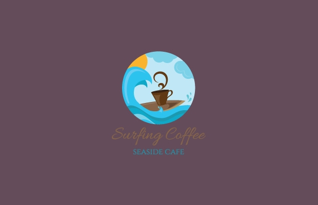 Amazing Pure Coffee Logo