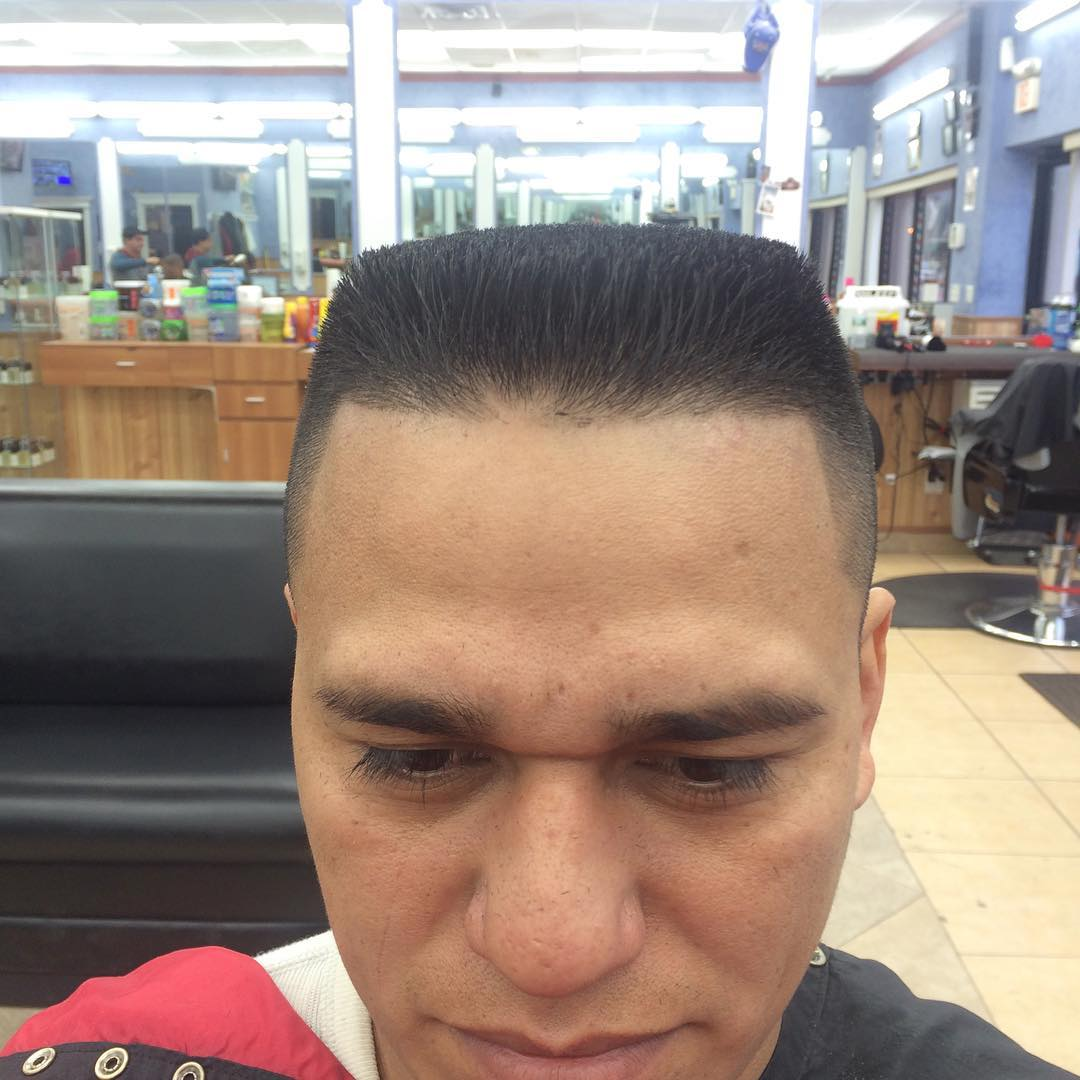 Small Flat Top Hair.