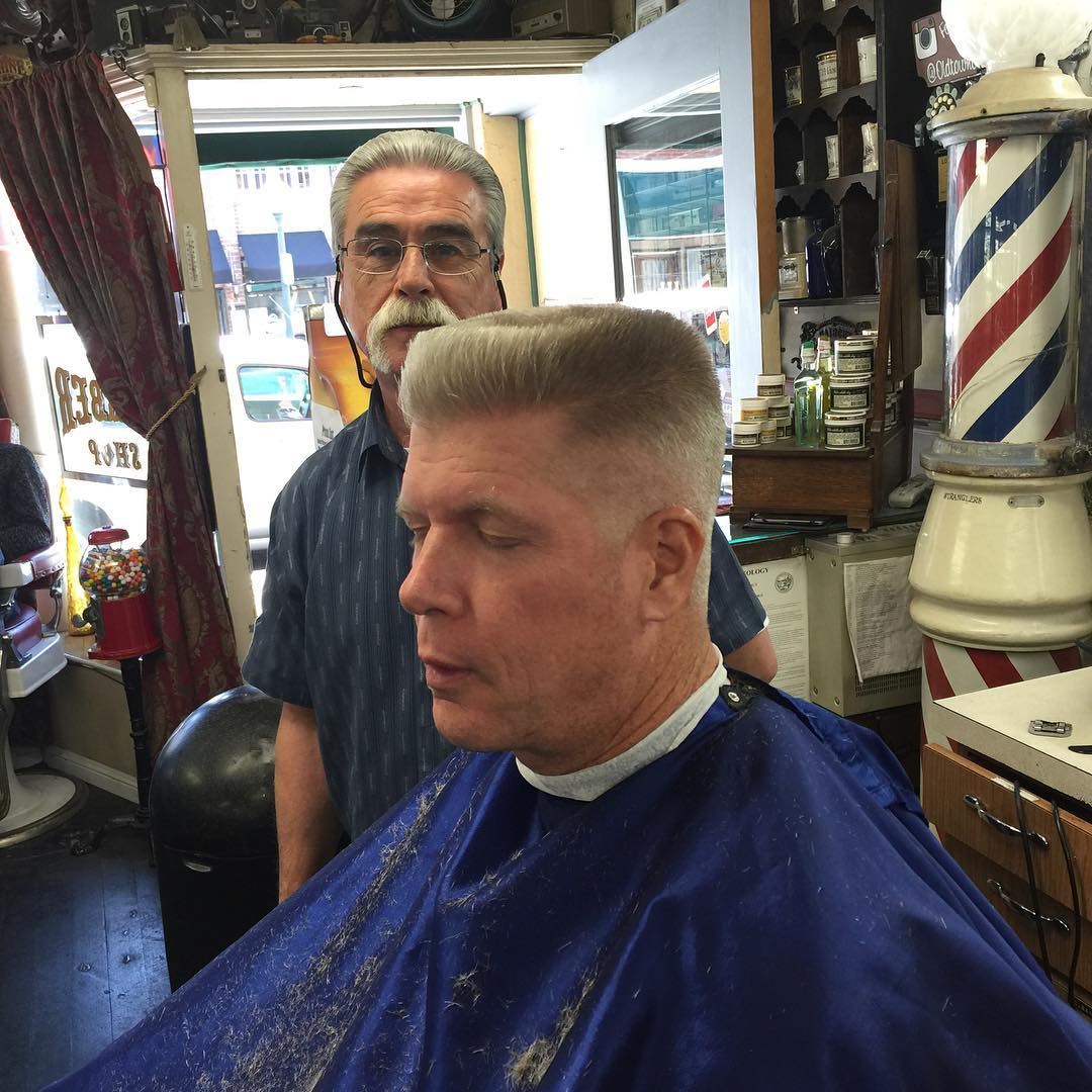 Flat Top For Old Man.