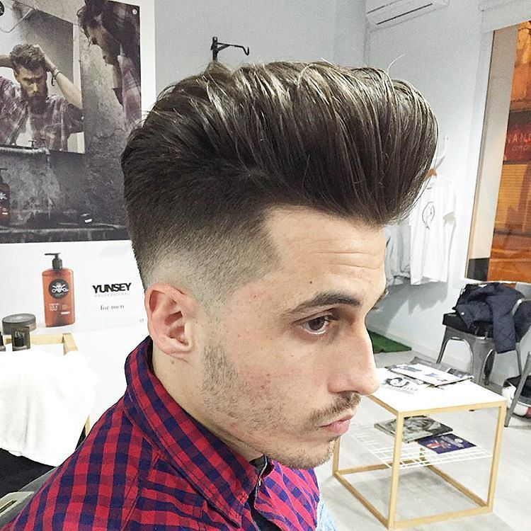 Low Fade Flat Top Hair