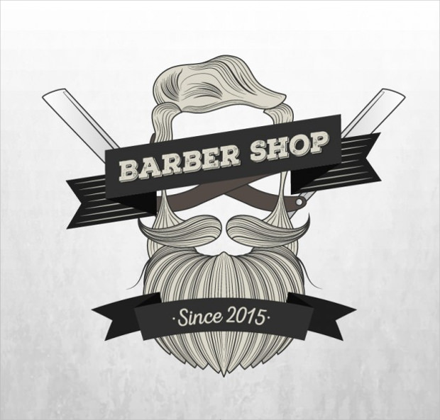 Beard Logo of Barber Shops