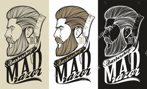 Stylish Barber Logos