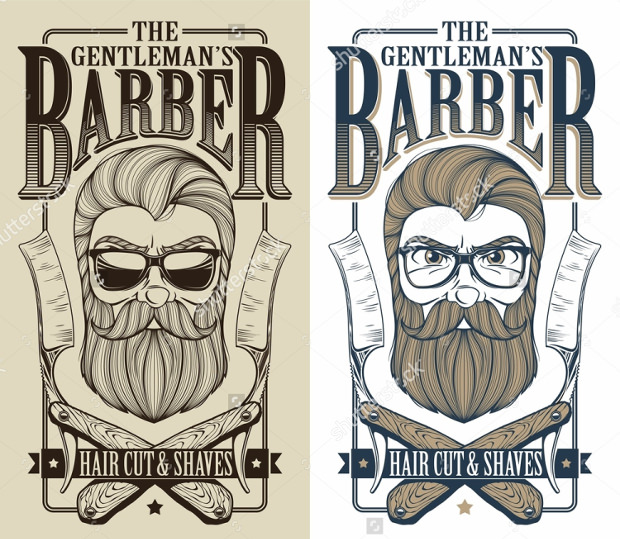 25 Barber Logo Designs Ideas Examples Design Trends