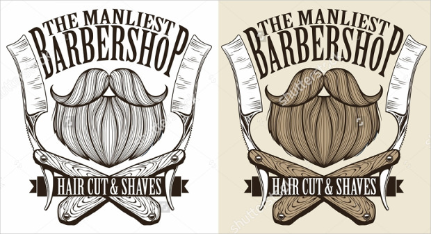 Barber Shop Stylish Logos