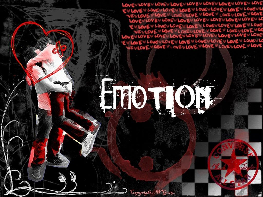 Emotion with Love Background