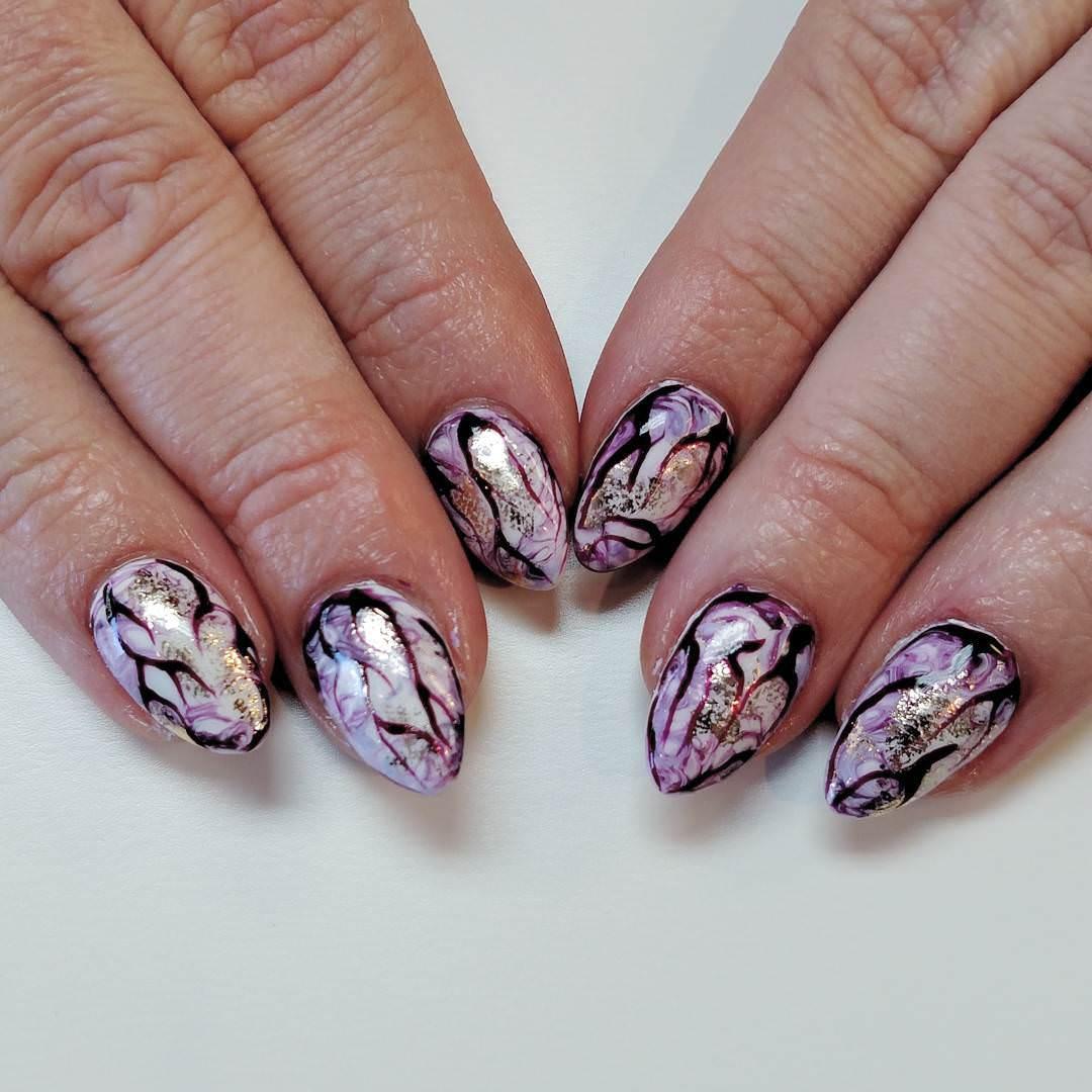 Unique Nail Art Designs: 30+ Colourful Acrylic Nail Art Designs , Ideas