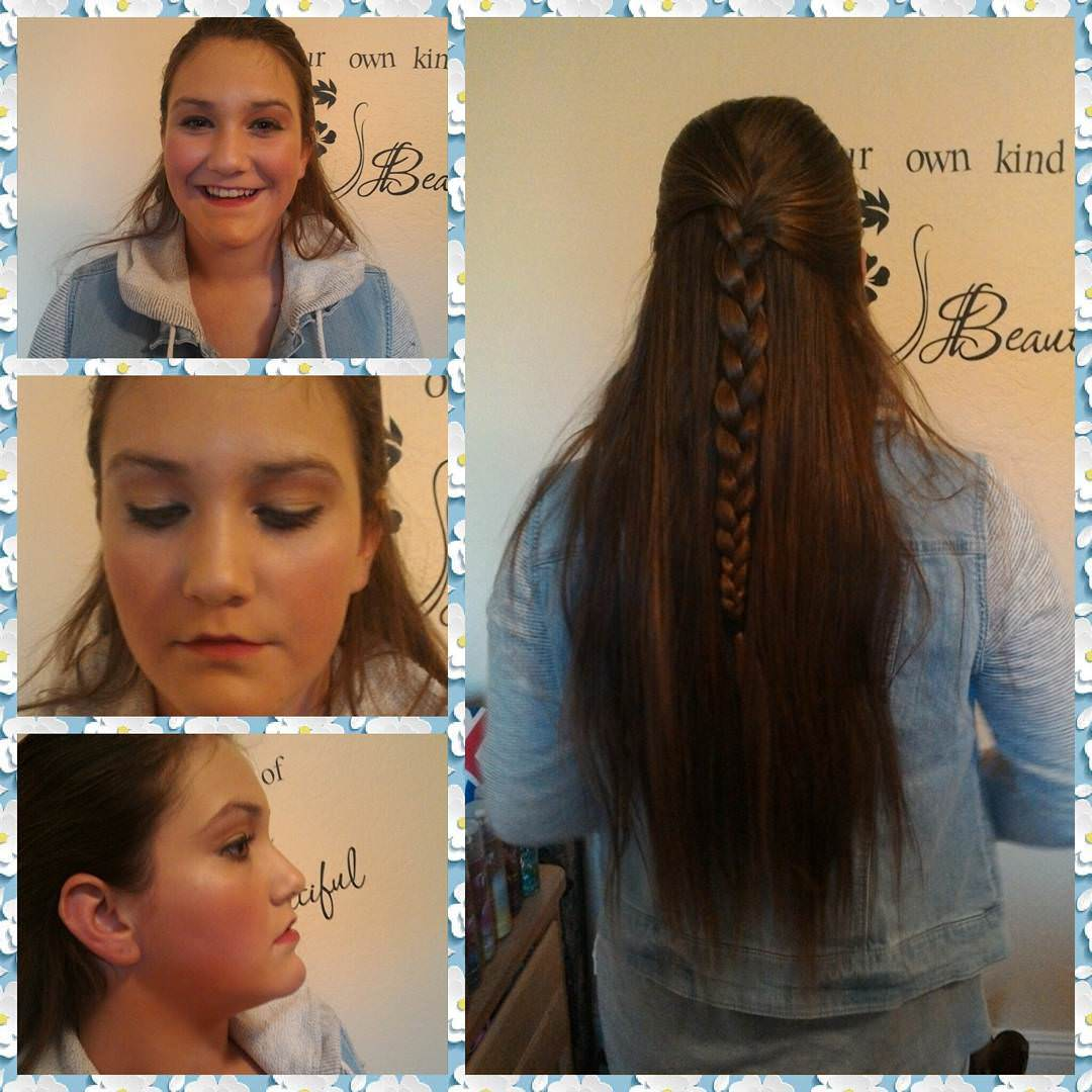 long braid hair