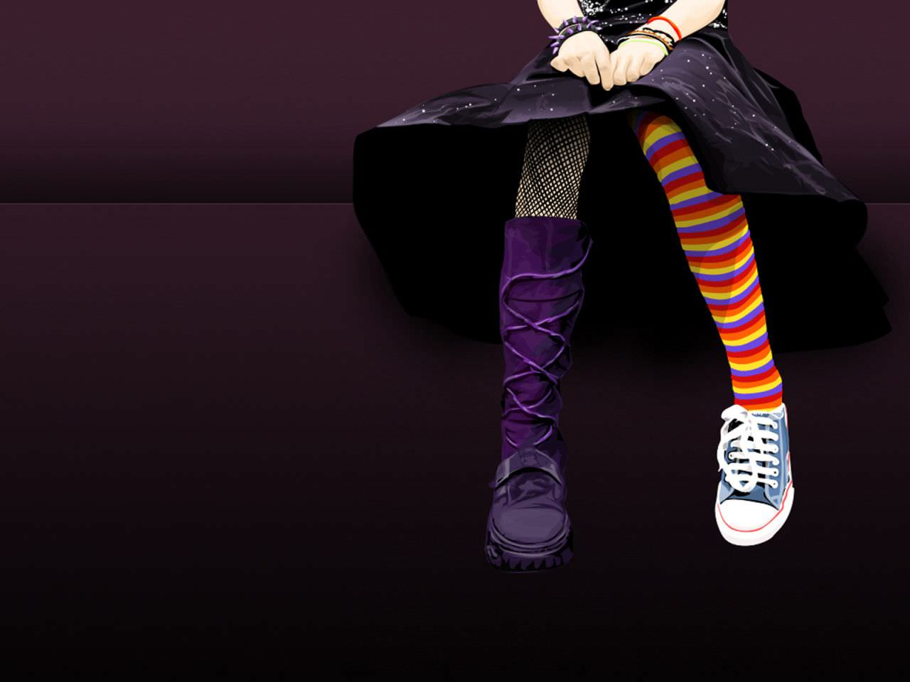 Emo Stellax Bieber HD Wallpaper