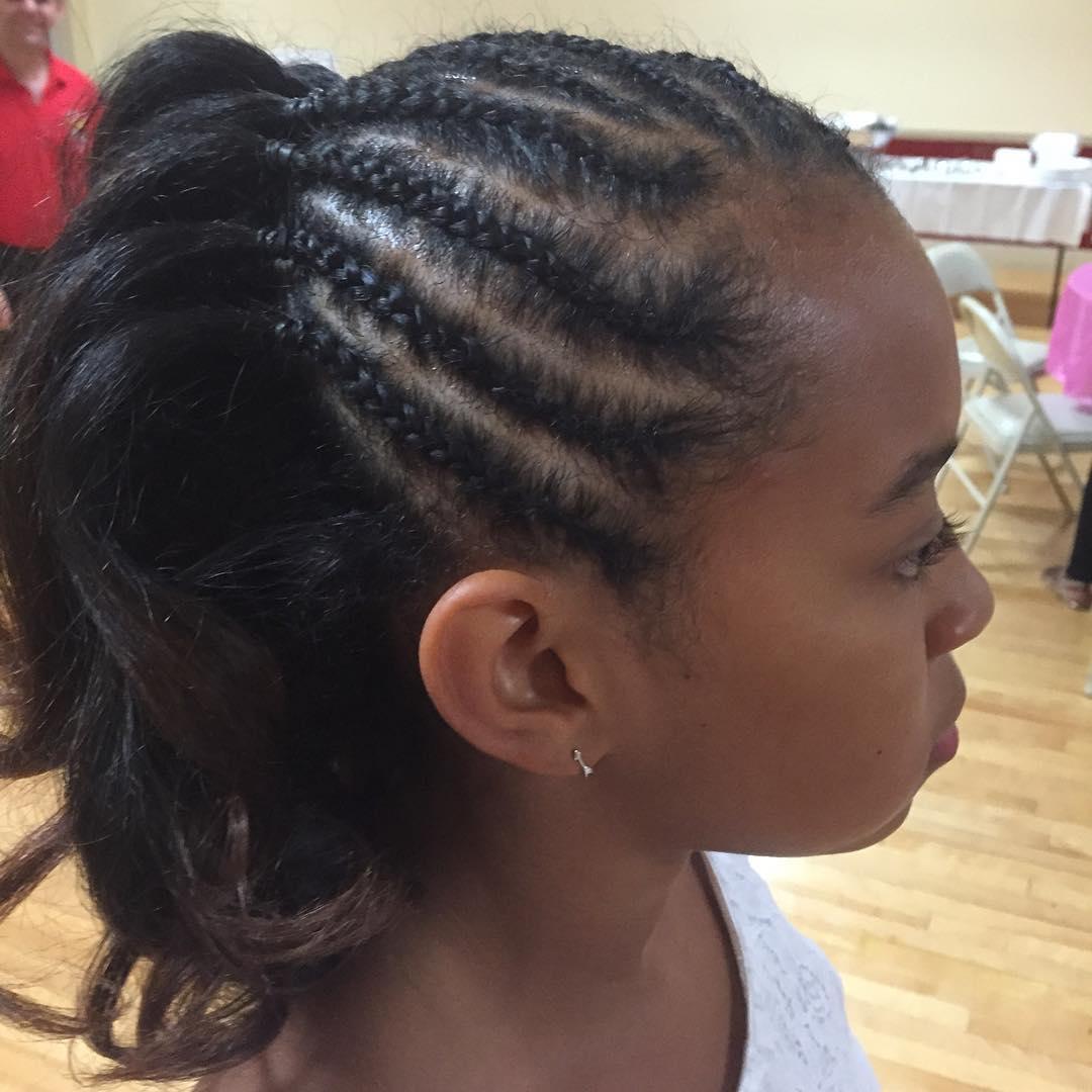 afro braid hair