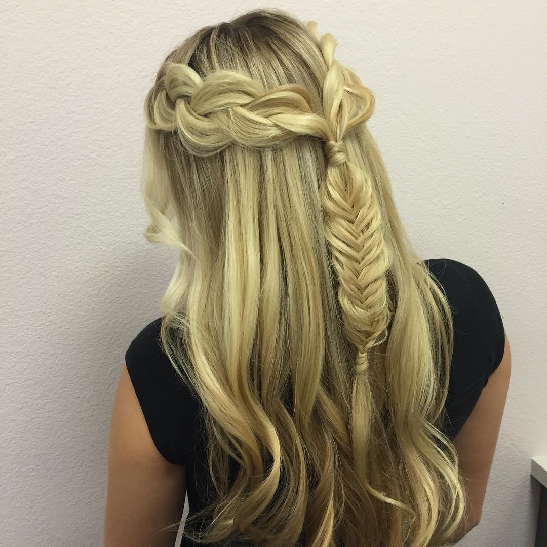 smooth fishtail braid