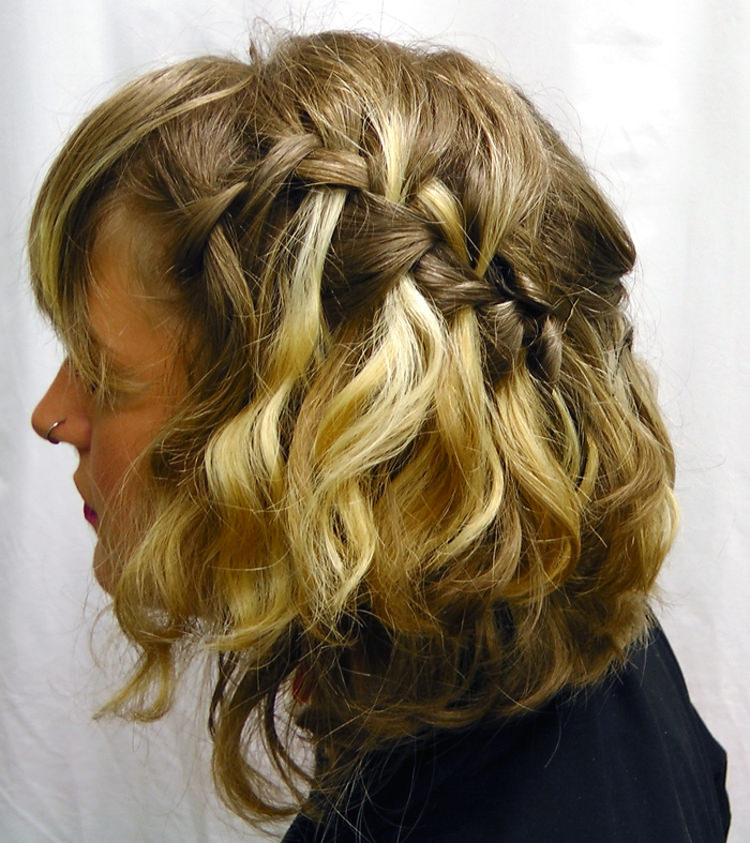 Side Braided Hairstyle