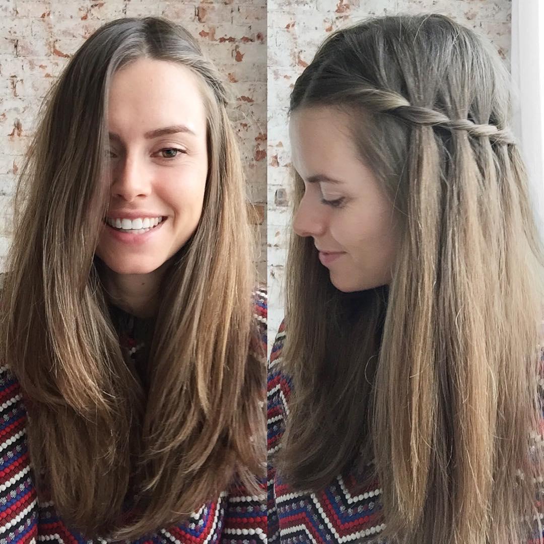 simple braid hair