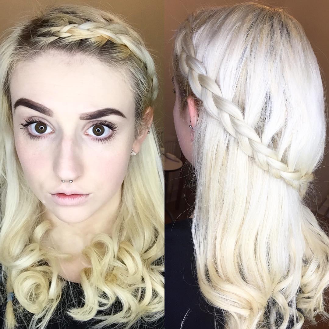 plaits and braid hair