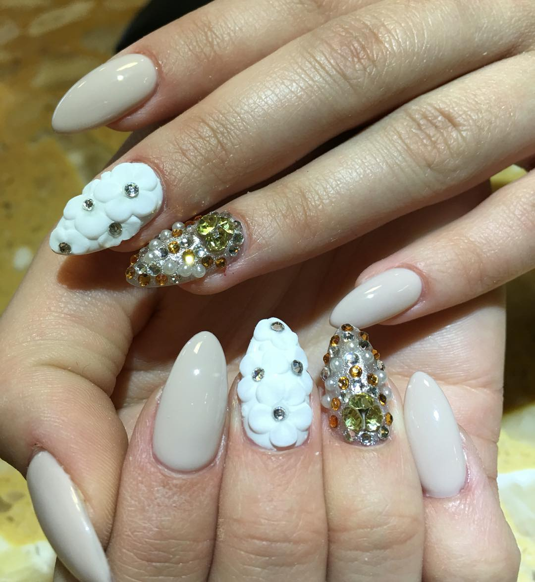27 prom nail art designs ideas design trends premium psd flowers prom nail design prinsesfo Gallery