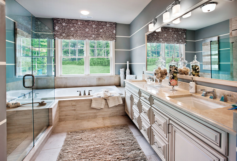 classic bathroom decor designs