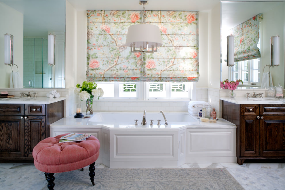 floral bathroom decor ideas