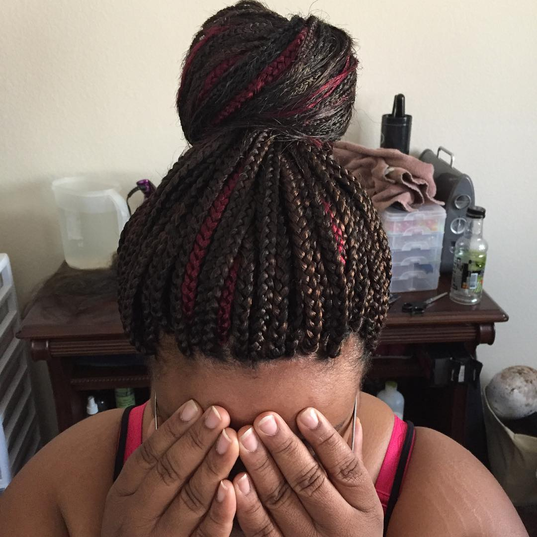 two colored twist