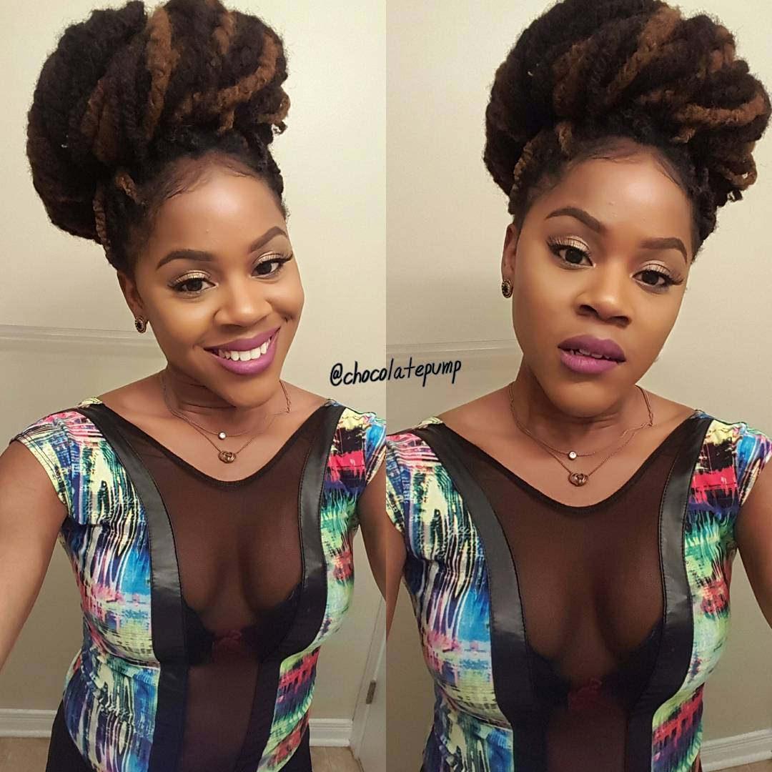 Beautiful Kinky Hairstyle