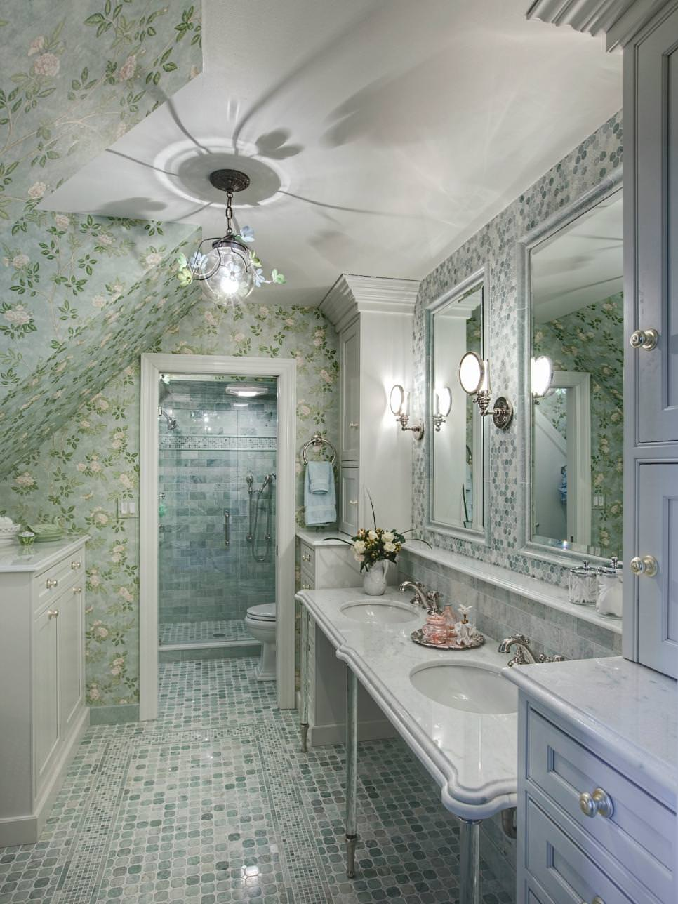 traditional floral bathroom ideas
