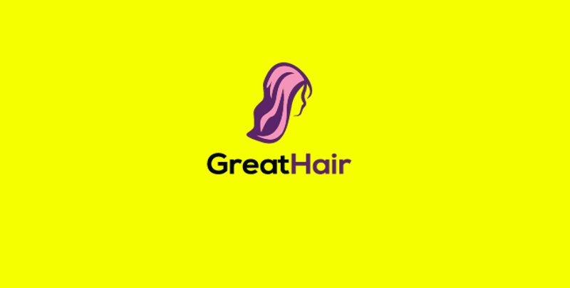 Great Hair Logo Design