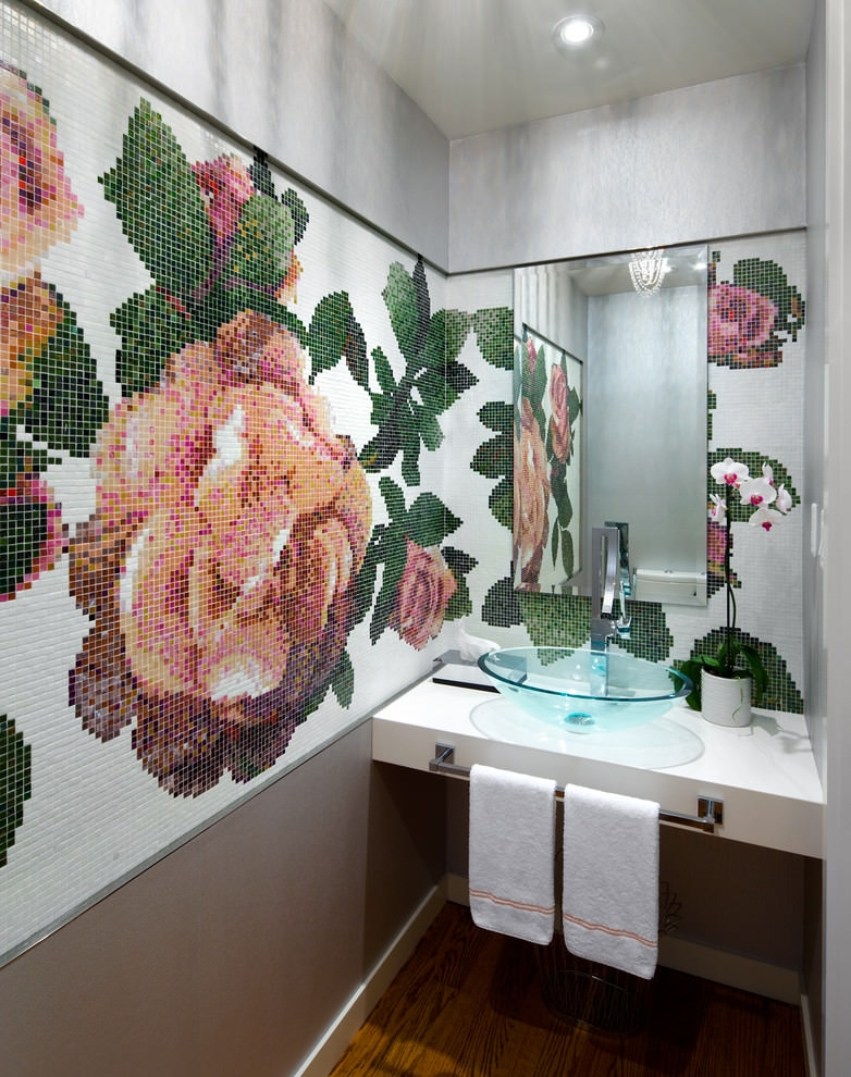 sassy bathroom wall decor ideas