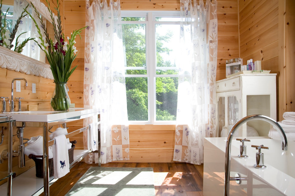 wooden bathroom decor ideas