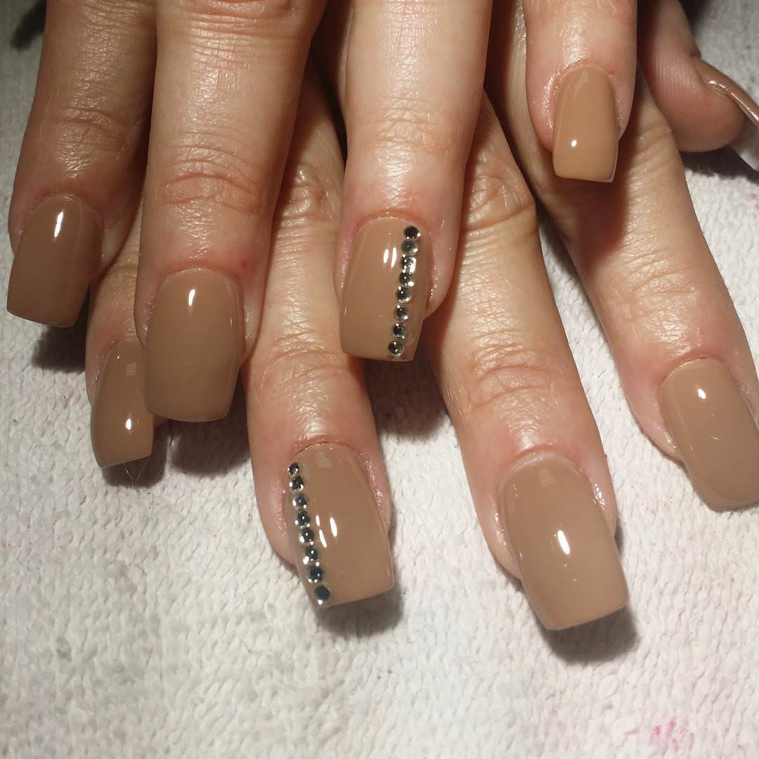 23 tan nail art designs ideas design trends premium psd modern tan nail design prinsesfo Choice Image