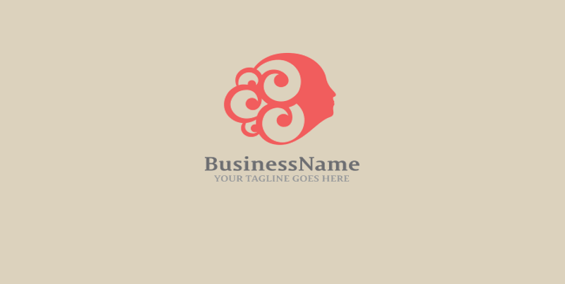 Fashionable Hair Logo Design