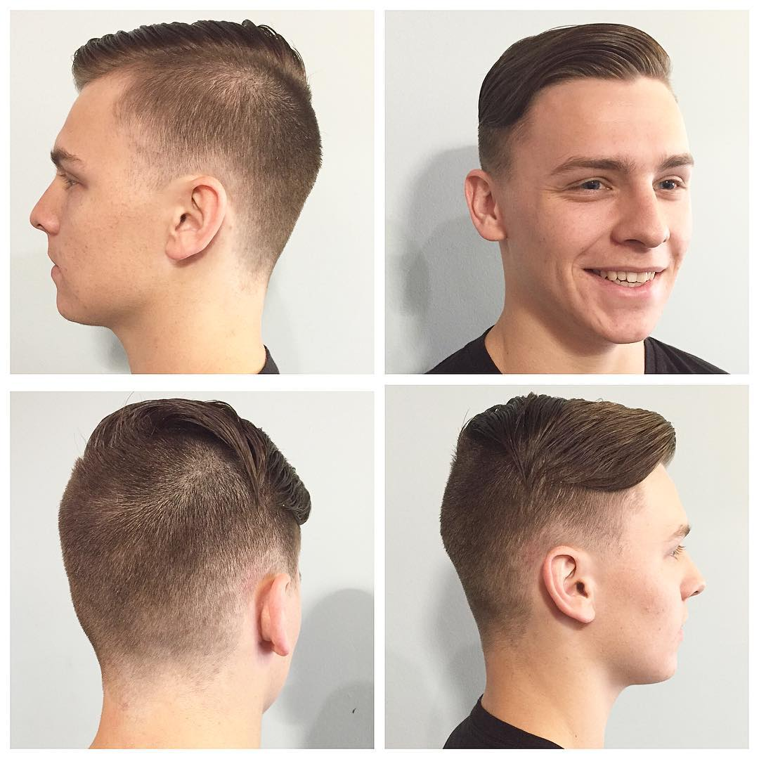 26 Rad Pompadour Haircut Designs Ideas