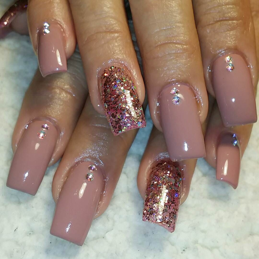 Marvelous Tan Nail Design