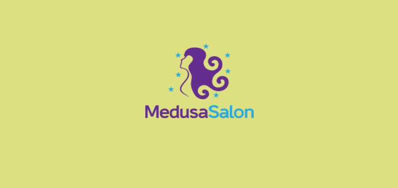 Medusa Salon Logo