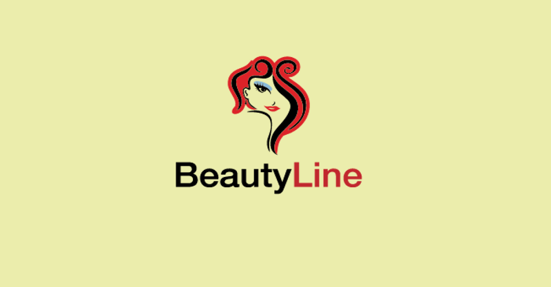Beauty Line Logo Design