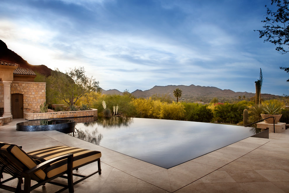 Serene Outdoor Edge Pool Ideas